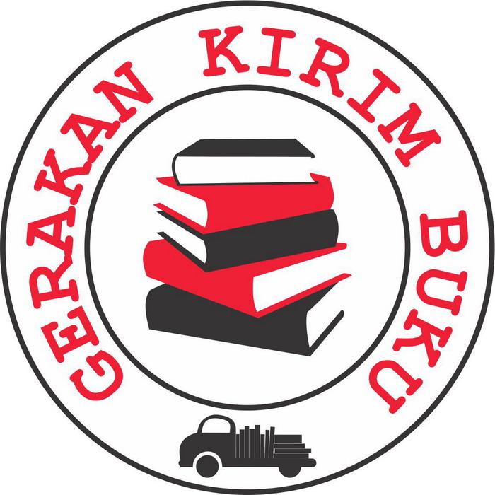 Logo Gerakan Kirim Buku made by Hanida Syafriani