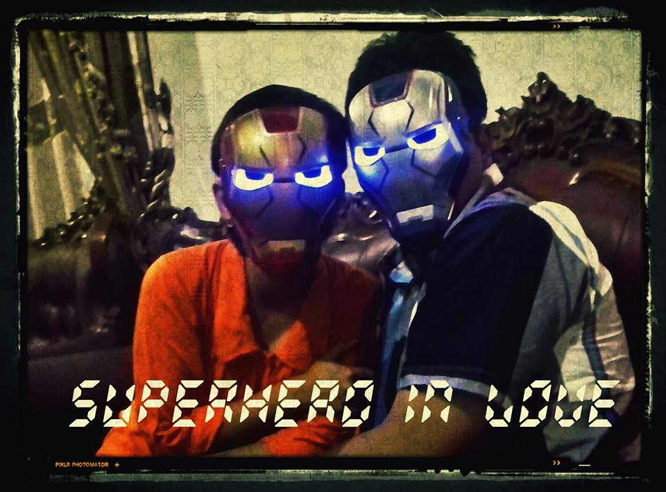 superhero in love