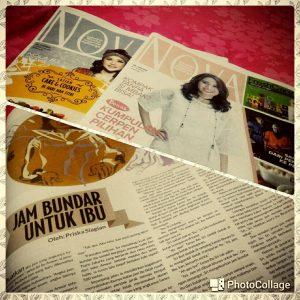 Jam Bundar Untuk Ibu dimuat tabloid Nova